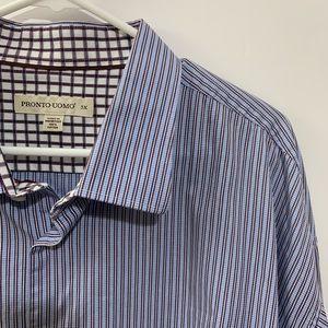 Pronto Uomo Casual Button Down Dress Shirt